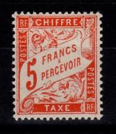 Taxe Duval YV 66 N** Cote 3,50 Euros - 1859-1955 Mint/hinged