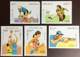 Laos 1996 Olympic Games MNH - Laos