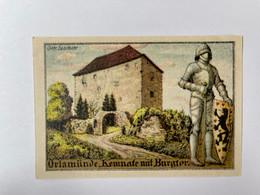 Allemagne Notgeld Orlamunde 50 Pfennig - Collezioni
