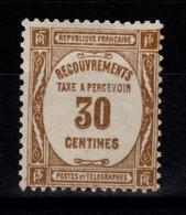 Taxe YV 57 N** Cote 12 Euros - 1859-1955 Mint/hinged