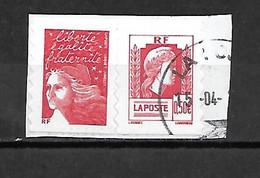 FRANCE P3716 Oblitérés - Adhesive Stamps