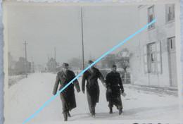 Photo HEIST AAN ZEE Bij Knokke Le Zoute Duinbergen Zeebrugge 1945 Belgische Soldaten ABL Kust - Plaatsen