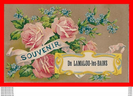 CPA (34)  Souvenir De LAMALOU-LES-BAINS.  Roses Et Myosotis...S922 - Lamalou Les Bains