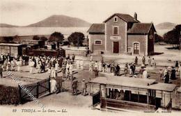 Bizerte Tunesien Tindja Bahnhof Eisenbahn Straßenbahn I Chemin De Fer - Unclassified