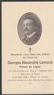 ABL, George Alexandre Lamoral , Prince De Ligne , Né à La Neuville Sous Huy Le 7 Décembre 1879 - Obituary Notices