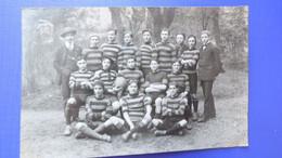 INDRE / ÉQUIPE DE FOOT Du LYCÉE De CHÂTEAUROUX En 1911 Avec Noms Des Joueurs -F.C.L.C. - Chateauroux