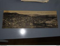 LANGEAC : Vue Panoramique Sud Ouest (carte Double) ................ 210202-2224 - Langeac