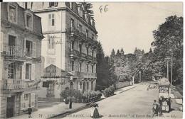 Luxeuil Les Bains : Modern Hôtel Et Entrée Des Thermes - Luxeuil Les Bains