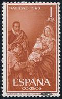 1960 Spain  Sc 968 Christmas Christmas *MH Nice, Mint Hinged  (Scott) - 1951-60 Unused Stamps
