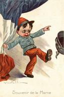 CPA - WW1 WWI Propaganda Propagande - V. CASTELLI - France, Francia - NV - PV639 - Oorlog 1914-18