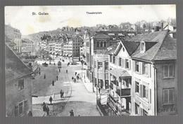 St Gallen, Theaterplatz (6502) - SG St. Gall