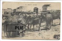 CPA MAROC 17 TANGER CARAVANE AU BON MATHURIN PLIE     BE - Tanger