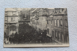 Besançon, L'inventaire à Saint Jean 5 Février 1906, Les Troupes Devant La Cathédrale, Doubs 25 - Besancon