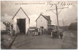 29 LE CONQUET - La Gare Des Tramways - Le Conquet