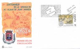 1999 Spain  Sc 3000 Defense Palma Canarias  FDC Nice  (Scott) - FDC