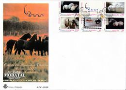 1999 Spain  Sc 3019f Horses Horses FDC Nice  (Scott) - FDC