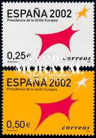 2002 Spain  Sc 3141/3142 Spain EU Presidency  **MNH Very Nice, Mint Never Hinged  (Scott) - 2001-10 Nuevos & Fijasellos
