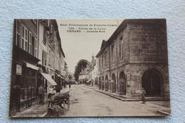 Ornans, Grande Rue, Vallée De La Loue, Doubs 25 - Sonstige Gemeinden