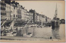 5 - TOULON - Le Quai Cronstadt - Carré Du Port - Courrier De Corse - Toulon