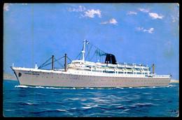STEAMERS - Paquete « Príncipe Perfeito »( Ed. Companhia Nacional De Navegação)   Carte Postale - Steamers