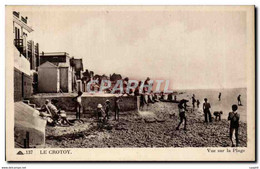 CPA Le Crotoy Vue Sur La Plage - Le Crotoy