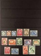 HADHRAMAUT 1942-63 All Different Fine Mint Assembly, Includes 1942-46 Complete Set, 1949 RSW Set, 1951 Surcharge Set, Pl - Aden (1854-1963)