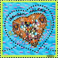 2001 France Sc 2797 Valentine's Day. Heart Of Christian Lacroix Personalities **MNH Very Nice, Mint Never Hinged  (Scot - Unused Stamps
