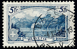 1928 Switzerland Sc 206 Rütli  (o) Used, Nice  (Scott) - Oblitérés