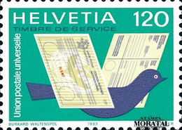 1983 Switzerland Sc 0 U.P.U.  **MNH Very Nice, Mint Never Hinged  (Scott) - Officials