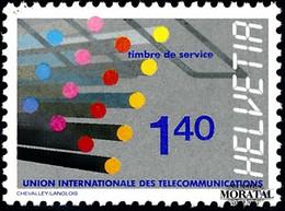 1988 Switzerland Sc 0 U.I.T.  **MNH Very Nice, Mint Never Hinged  (Scott) - Officials