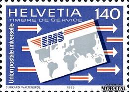 1989 Switzerland Sc 0 U.P.U.  **MNH Very Nice, Mint Never Hinged  (Scott) - Officials