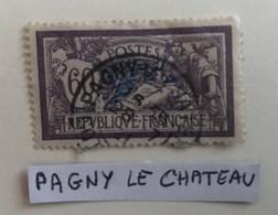 France Merson Oblitération Blegny Le Château - Ohne Zuordnung
