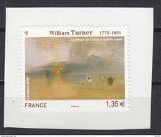 William Turner, AUTO ADHESIF N° 402, 2010 Neuf **   Grande Marge - Adhesive Stamps