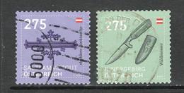 Oostenrijk 2020 Mi 3526-27 Trachten Hoge Waarden Gestempeld - 2011-... Afgestempeld