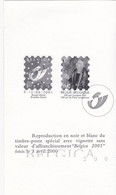 ZNP33 / FR - 2001 - OPB / COB  2901 - Hojas Blanco & Negro