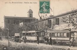 La Bourdonnière : Station Des Trams - 1912 - Otros Municipios