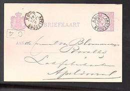 1879 Eindhoven Koninklijke Lakfabrikant Blommestein Couvalky Apeldoorn GC-115) - Briefe U. Dokumente