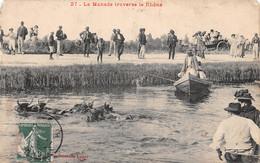 13-LA MANADE TRAVERSE LE RHONE-N°T5027-D/0331 - Andere Gemeenten