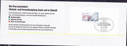 Berlin - MiNr: 847 In  Klappkatte Der Bundespost Zur IFA Berlin Vom 25.8.-3.9.89 Mit Stempel Von Tag Der Eröffnung - Storia Postale