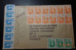 NOUVELLE CADELONIE Obl. Spectaculaire+ 12 Au Verso - Briefe U. Dokumente