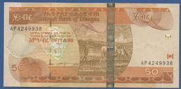 ETHIOPIA - P.51d – 50 Birr 2000 2008 - UNC Prefix AP - Etiopia