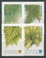 Weihnachts-Insel 1984 Pflanzen Farne 282/85 Postfrisch - Christmaseiland
