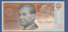 ESTONIA - P.76a – 5 Krooni 1994 - UNC Prefix CC - Estonia