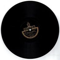 78 Tours - 1 Mon Coeur T' Appelle - 2 Le Bel Amour Que J'ai Pour Toi - Valses De Film -  Disque Odeon - - 78 G - Dischi Per Fonografi
