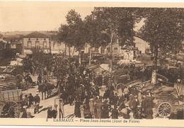 CARMAUX Jour De Foire Place Jean Jaures - Carmaux
