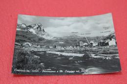 Aosta Cervinia Breuil Con Cime Segnalate 1961 - Otras Ciudades