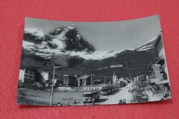 Aosta Cervinia Breuil Veduta Con Corriere 1963 - Otras Ciudades