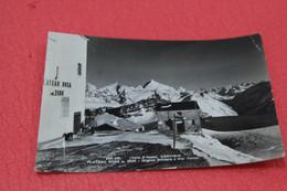 Aosta Cervinia Breuil Il Posto Di Dogana Svizzera + Leggero Segno Di Piega Verticale A Sinistra 1955 - Otras Ciudades