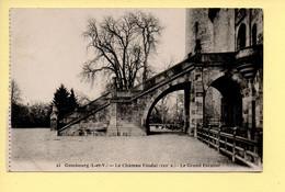 35. COMBOURG – Le Château Féodal / Le Grand Escalier (voir Scan Recto/verso) - Combourg