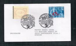 Austria Enveloppe Commémorative 125 Ans Des Pompiers 1999 - Bombero